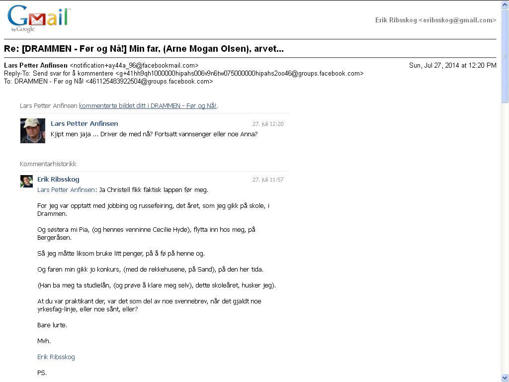 mer fra gmail