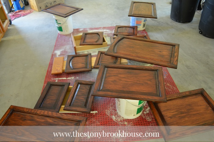 Staining Cabinets ~ This Is The Best Stain EVER! - The Stonybrook ...