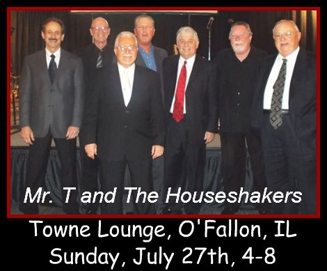Mr. T and The Houseshakers 7-27-14