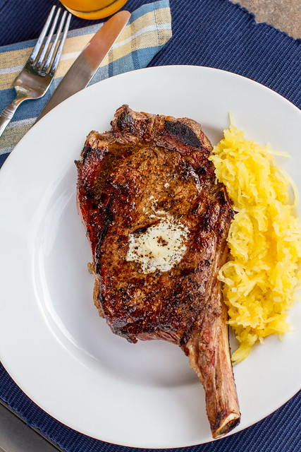 Griled Steak on Plate ...