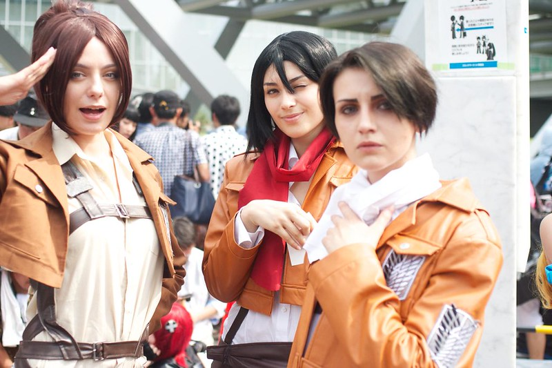 Attack of Taitan -comic market 86 cosplay-