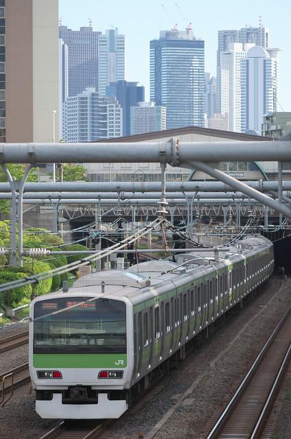 Tokyo Train Story 山手線 2014年8月17日