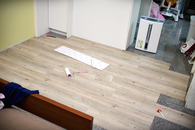 P7261907PRO特選特力屋塑膠地磚9x36吋2mm木紋763