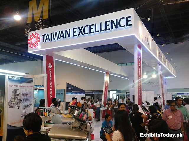 Taiwan Excellence Trade Show Display