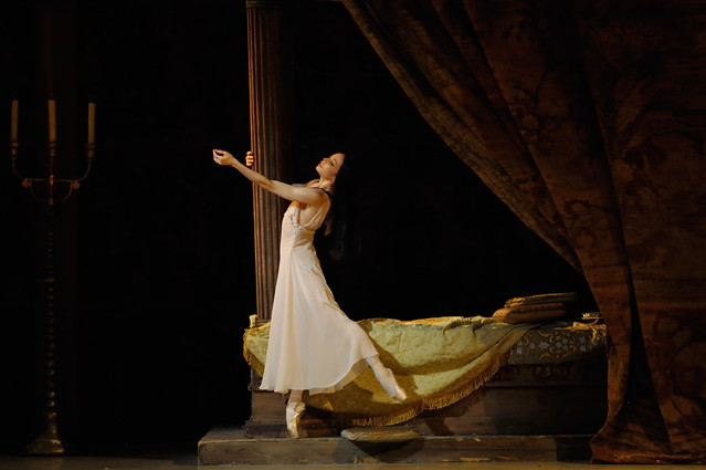 Diana Vishneva as Juliet in Romeo and Juliet © Valentin Baranovsky