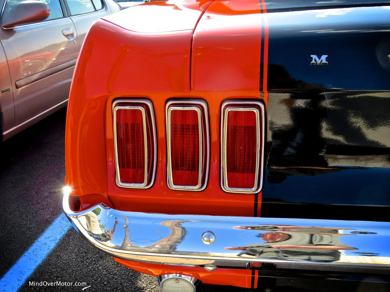 1969 Ford Mustang Taillights