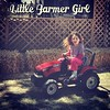 My little farmer girl! #tractor #washingtoncountyfair ##bigfairfun