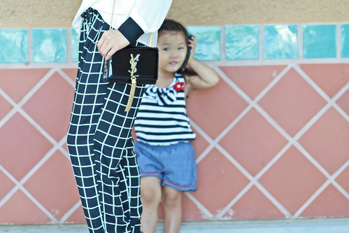lucky magazine contributor,fashion blogger,lovefashionlivelife,joann doan,style blogger,stylist,what i wore,my style,fashion diaries,outfit,windsor,windsor store,zerouv,oversize sunglasses,lulus,yves saint laurent,saint laurent,trouser,window pane print
