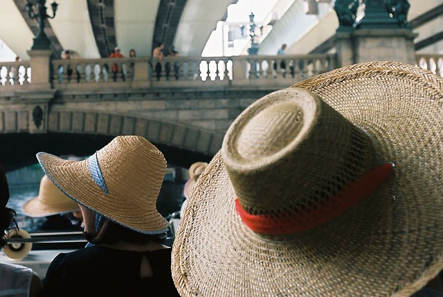 straw hat at 2014 summer