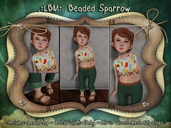 {LBM} Beaded Sparrow Ad