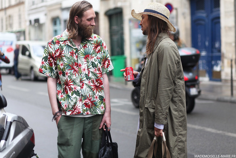 Street style at Paris Fashion Week Menswear day 4