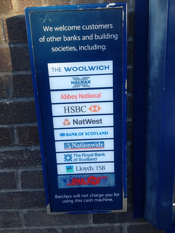 Only 5 of these banks still exist I think