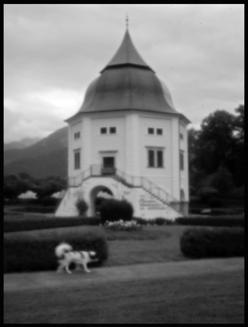 THE PAVILLON (built 1659-1661) . Pinhole photography
