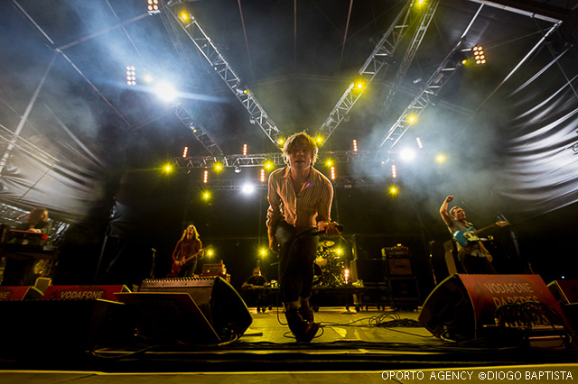 Cage The Elephant - Vodafone Paredes de Coura '14