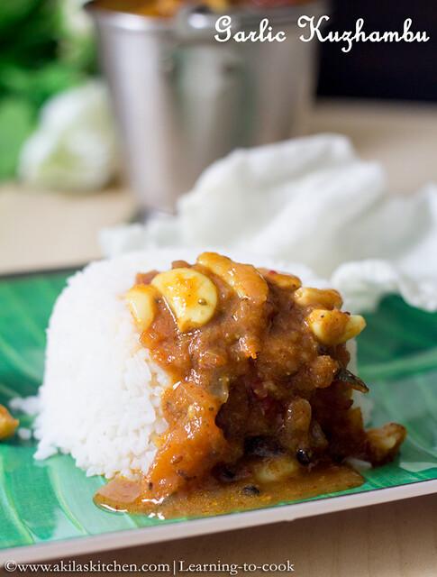garlic kuzhambu