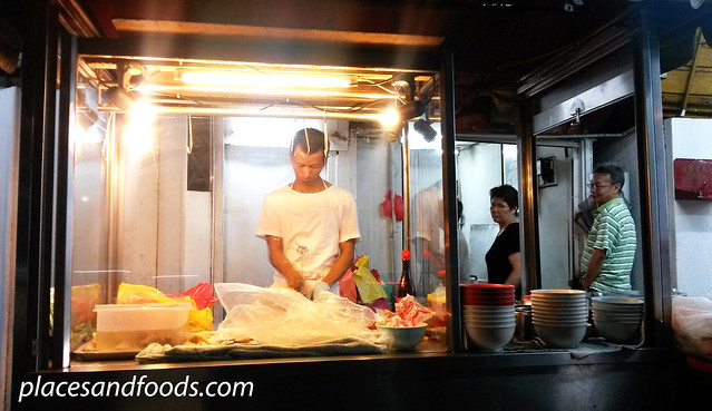 chan sow lin chicken rice stall