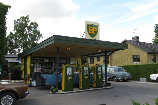 BP nostalgimack i Harlösa