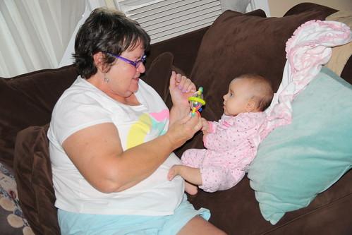 Grandma Visits- July 2014