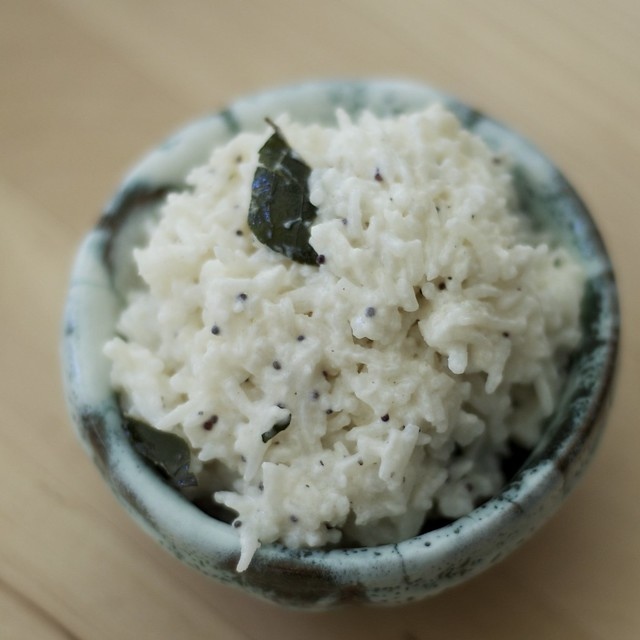 coconut yogurt rice