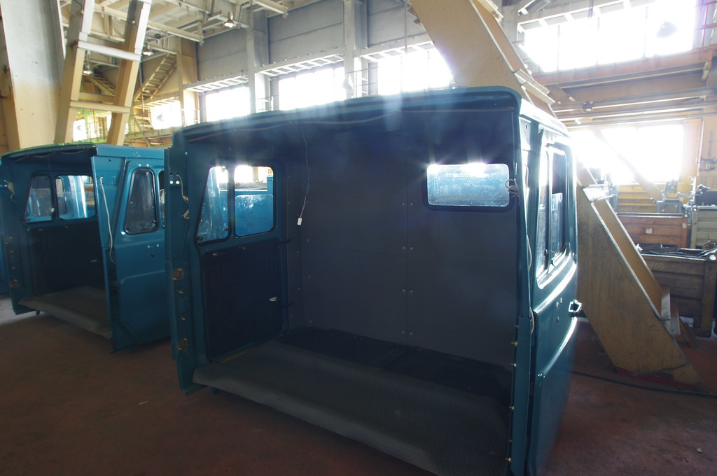 Вторые секции больших кабин