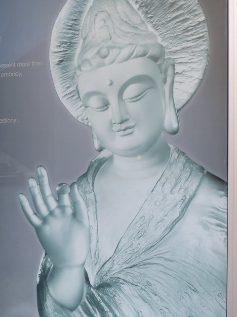 Buddha Glass Etching