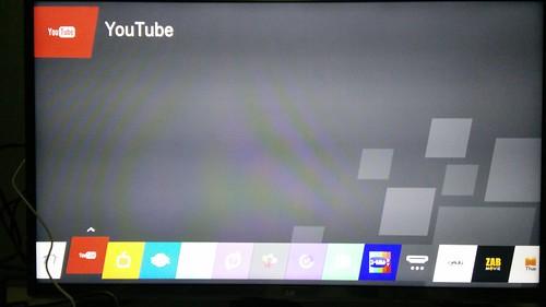 รายการ App ต่างๆ บน LG Smart TV
