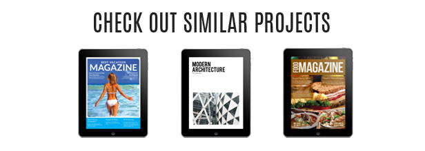 Tablet Business Magazine Template Issue Two