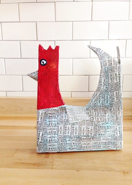 We Made It: Cardboard Box Chicken