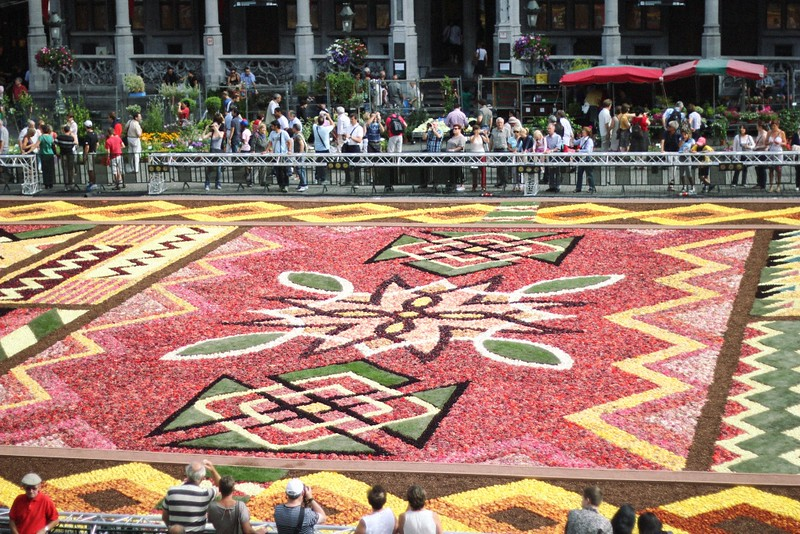 grand place flower carpet