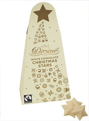 Divine White Chocolate Christmas Stars