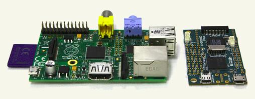 "Raspberry Pi ""B"" & Hardkernel ODROID-W"