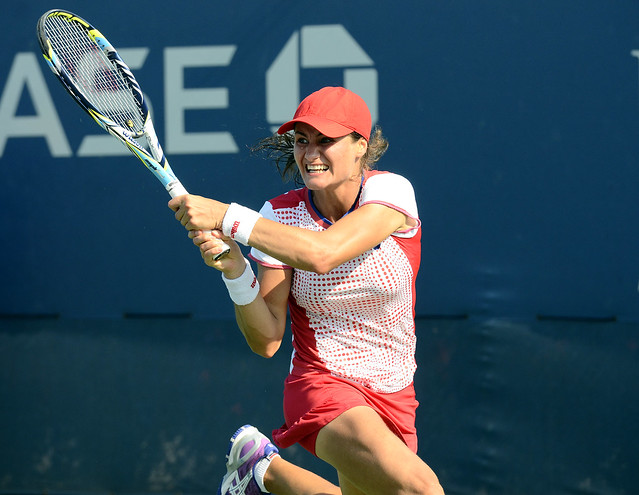 2014 US Open (Tennis) - Tournament - Monica Niculescu
