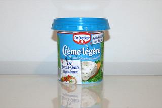 08 - Zutat Creme legere mit Kräuter / Ingredient creme legere with herbs