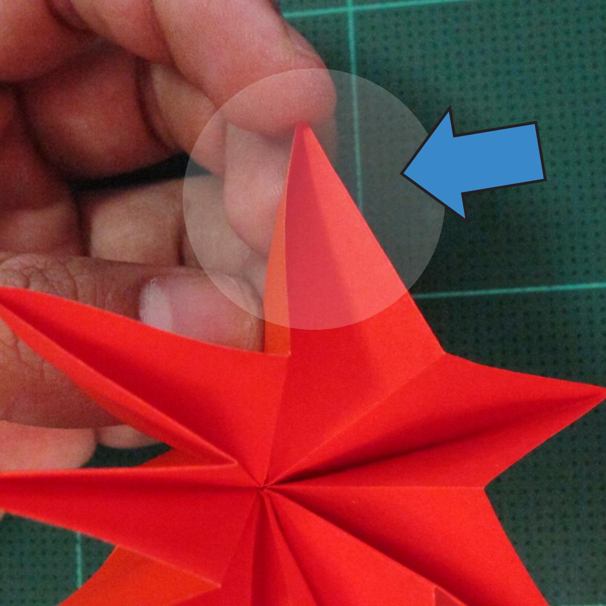 วิธีพับกระดาษเป็นช่อดอกไม้ติดอกเสื้อ (Origami Wedding Chest Flower) 021