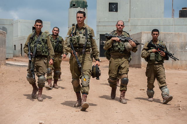 Kfir Brigade Soldiers at the Urban Warfare Center