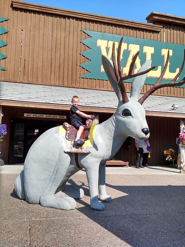 Jackalope at Wall Drug Store