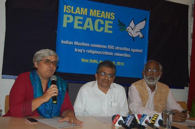 Press Conference in Delhi.