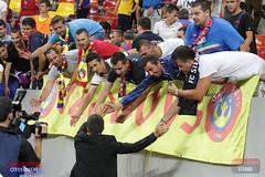 Steaua-Ludogorets, atmosfera