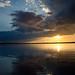 Sunset at Chobe by MrBlackSun