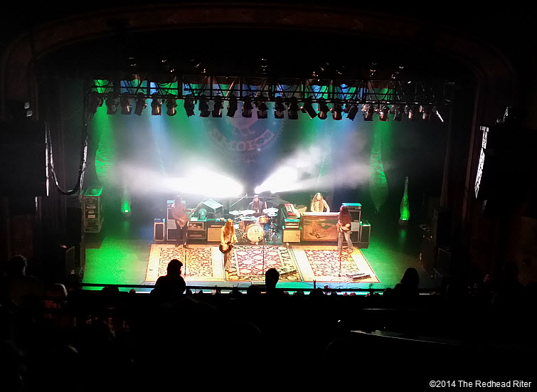 Blackberry Smoke Southern Rock Concert, Richmond, Virginia  20140115_1