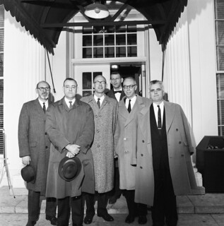 Congressman Ken Hechler (West Virginia) with Visitors at the White House
