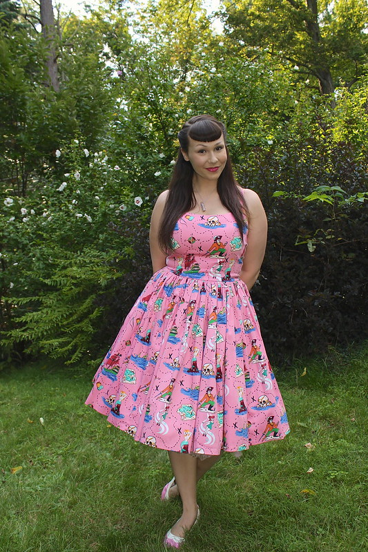 Pinup Girl Clothing dress