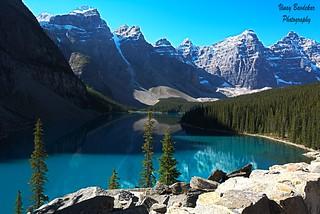 Moraine Lake, Alberta, the $20 view