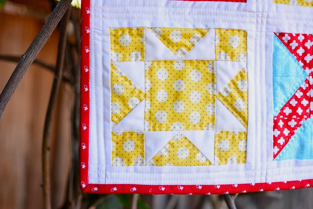 Farmer's Wife Mini Quilt