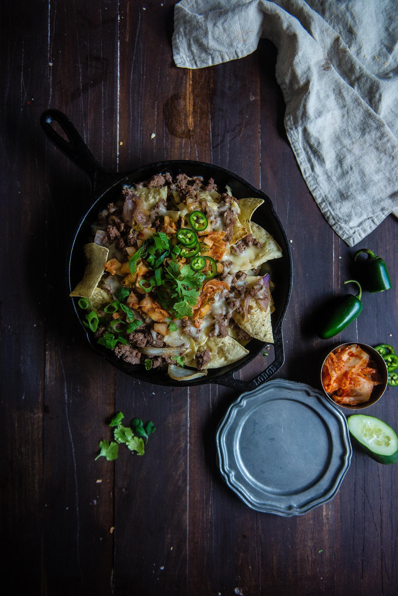 Kimchi & Bulgogi Nachos