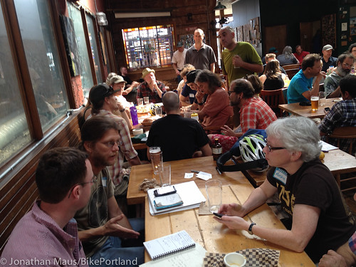 First meeting of BikeLoudPDX-6