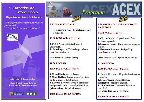 V Jornadas de Intercambio ACEX en Bizkaia