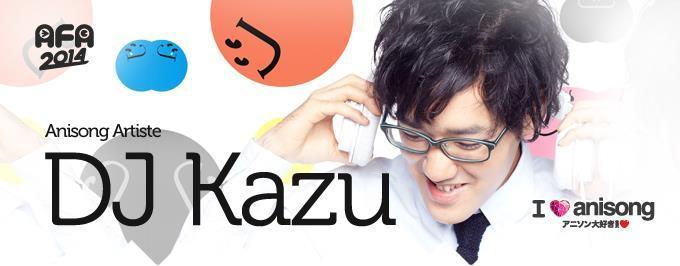 AFA 2014 I Love Anisong Mega Anime Music Festival DJ Kazu