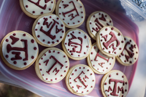 Texas A&M Aggie Cookies #wingsandwipes #pmedia #ad