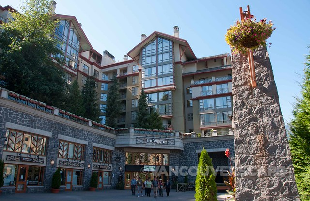 Westin Whistler, our home base during the Whistler Village Beer Festival